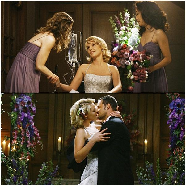 casamento Grey's Anatomy izzie alex
