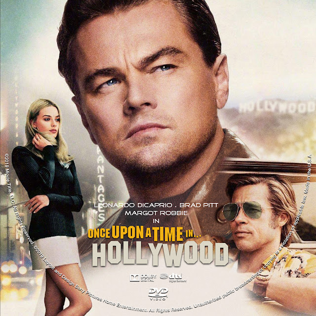 Once Upon a Time in Hollywood DVD Cover