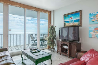 Lighthouse Condo For Sale Gulf Shore AL Real Estate Living Room Unit 1110