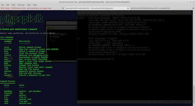 Remote WebServer Dengan Backdoor PhpSploit di GNU/Linux