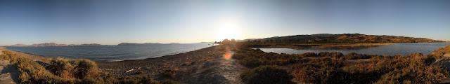 The Island of Hydra and Sabariza lagoon full 360° view