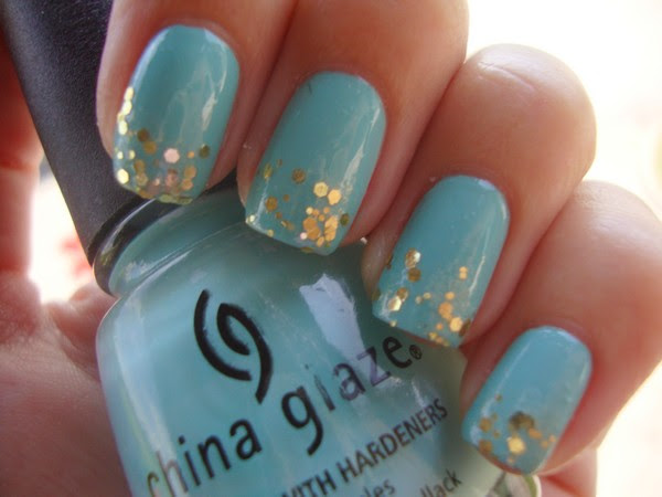 CHINA GLAZE - FOR AUDREY & GLITTER