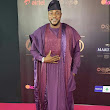 It's Flywaterz: AMVCA 2018: So humble! Odunlade Adekola Prostrates To Fans For Winning Best Actor As Nollywood Stars Storm Stage To Celebrate With Him