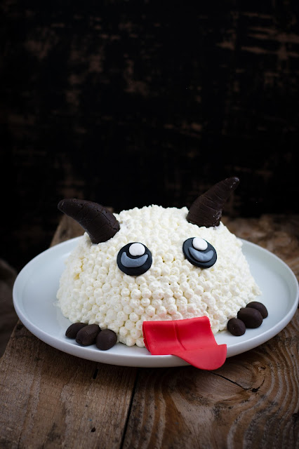 League of Legends gâteau Poro cake