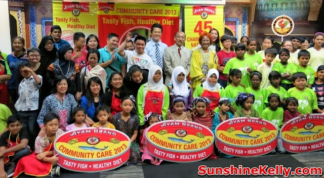 Ayam Brand, Tasty Fish Healthy Diet, community care, charity, csr
