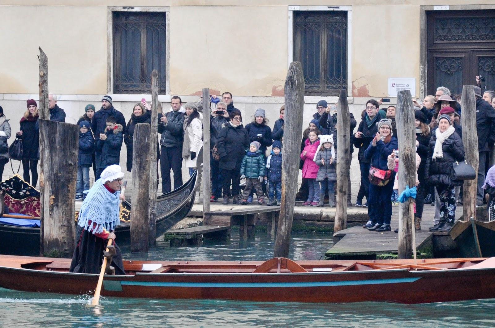 Blue Befana, Befana race, Venice, Italy