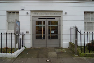 Entrance to the Jewish museum, London - Long & Kentish