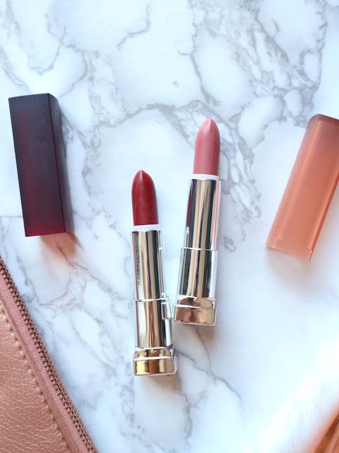 Maybelline Powder Matte Lipstick Review Swatch