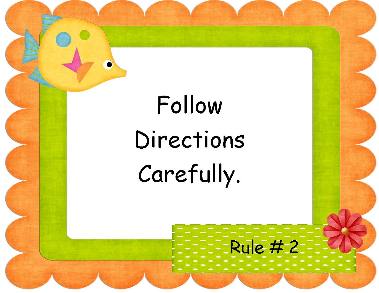 2nd Grade Class Rules Pictures To Pin