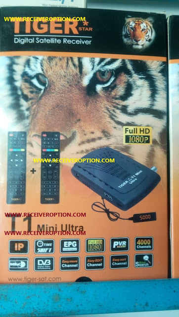 TIGER T1 MINI ULTRA HD RECEIVER AUTO ROLL POWERVU KEY NEW SOFTWARE