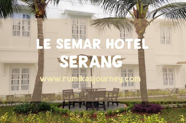 le semar hotel serang