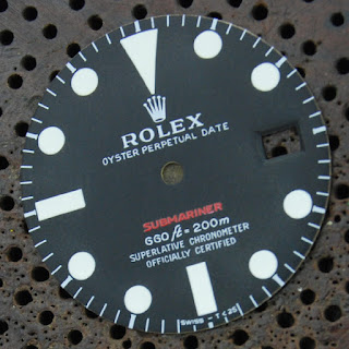 Rolex red letter submariner restoration