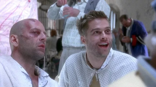 Bruce Willis & Brad Pitt, Twelve Monkeys