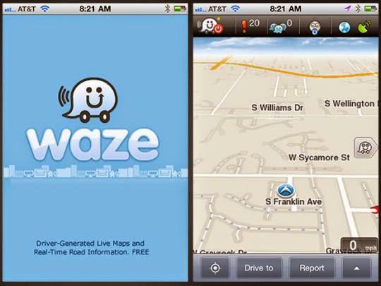 aplikasi peta mudik waze