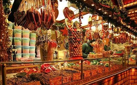 рождественские праздники в Брюсселе