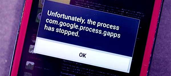 3 Cara Mengatasi �Sayangnya Proses com.google.process.gapps Telah Berhenti� di Android