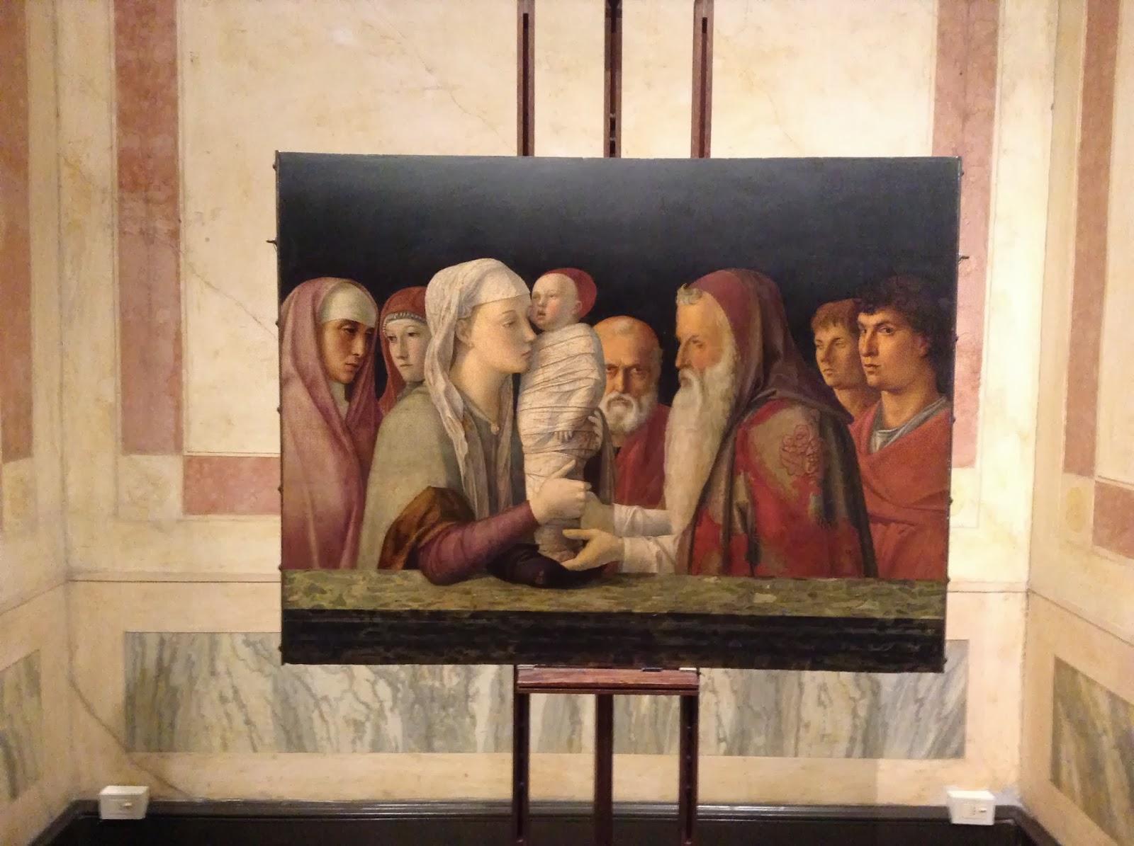 ab52969f58b623 O sztuce. Blog Justyny Napiórkowskiej: Bellini - Ofiarowanie w świątyni