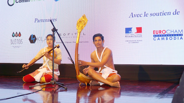 La troupe Sounds of Angkor