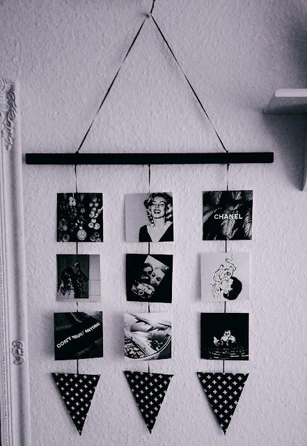 diy, tumblr deco, tumblr, decoration, selfmade, interior, photo wall, tumblr photo, diy home decor, diy decoration, dekoration basteln, selbst gemacht, wand dekoration, wall decoration, photo wall