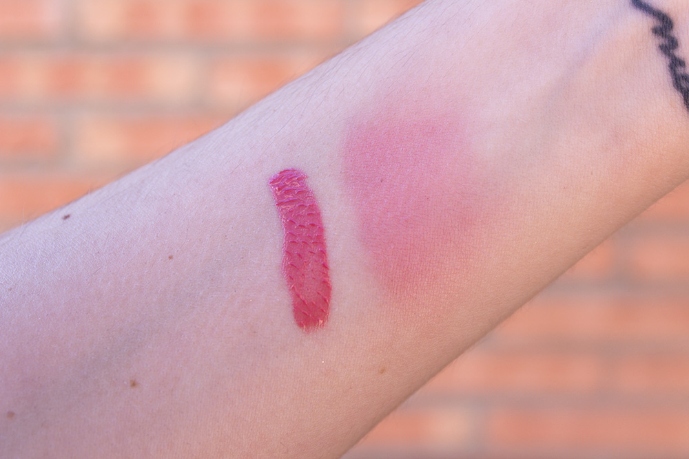 Shiseido Majolica Majorca Cream de Cheek PK312 swatches