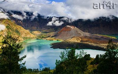 Pendakian Objek Wisata Gunung Rinjani
