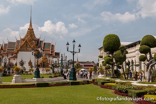Palacio real de Bangkok