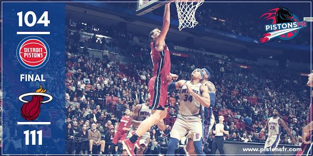 Résumé match Pistons-Heat | PistonsFR, actualité des Detroit Pistons en France