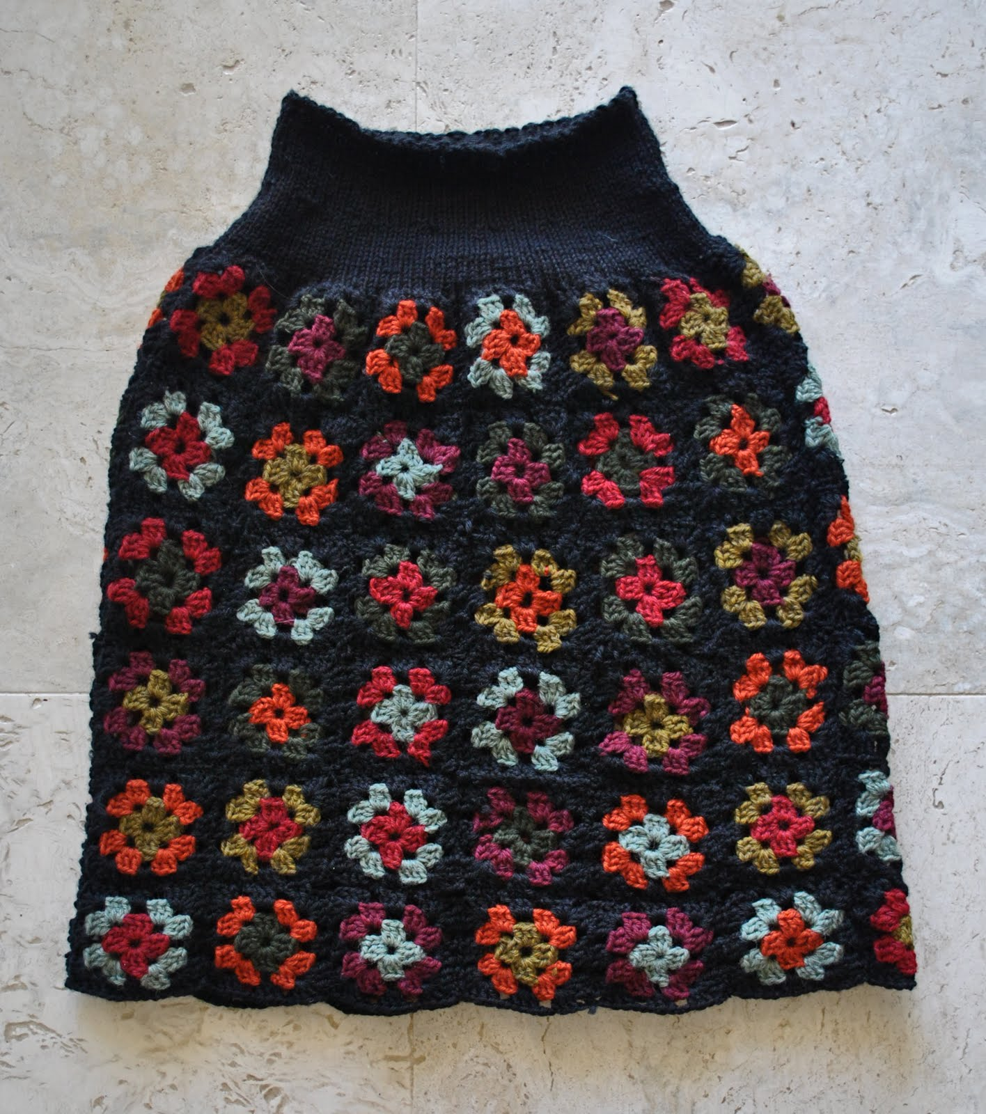 Granny Square Skirt 13