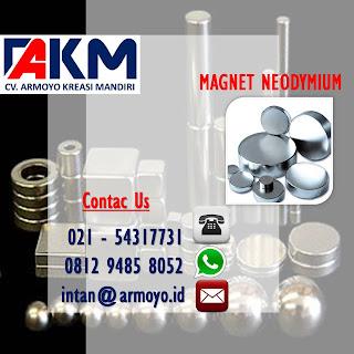 magnet putih