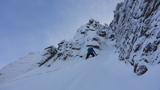 Christmas and New Year Cairngorm winter climbing conditions