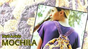 Mochila Crochet con hexágonos y pentágonos  / Paso a paso