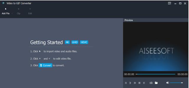تحميل برنامج تحويل الفيديو الى صورة Free Video to GIF Converter