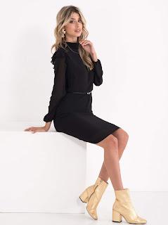 legend mala crna haljina