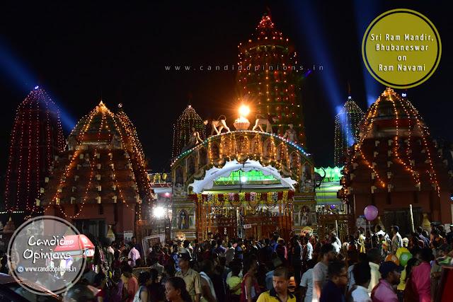 Sri Ram Mandir, Bhubaneswar Decked Up On Ram Navami