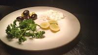 Olive parsley Feta cheese lemon for Greek salad recipe