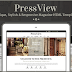PressView Vintage and Stylish New Magazine Template