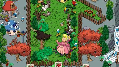 Smurfs' Village Mod Apk Gold v1.52.0 Smurf Berry/Resource