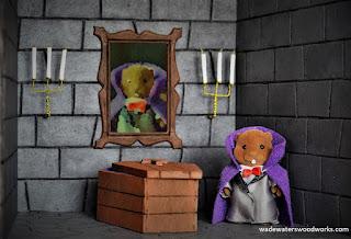 Sylvanian Families Halloween diorama