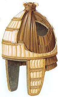 Доспехи воинов Троянской войны. Шлемы (часть третья)