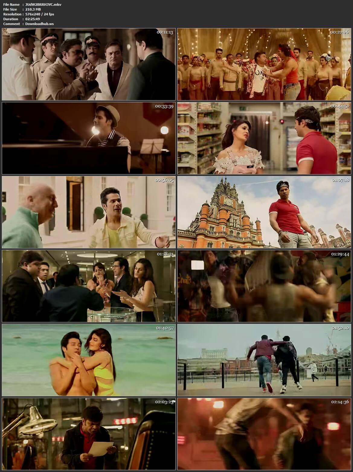 Judwaa 2 2017 Hindi HEVC 480p BluRay ESubs