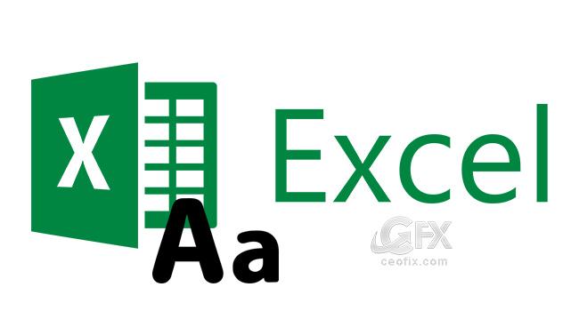 Excel de Büyük Küçük Harf Değişikliği Nasıl Yapılır