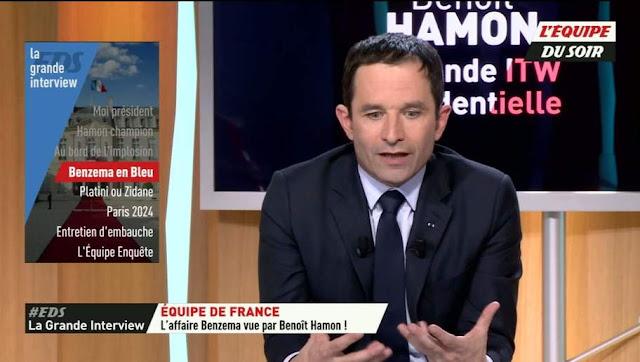 Benoît Hamon Coupe du Monde