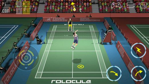 ابطال التنس Super Badminton