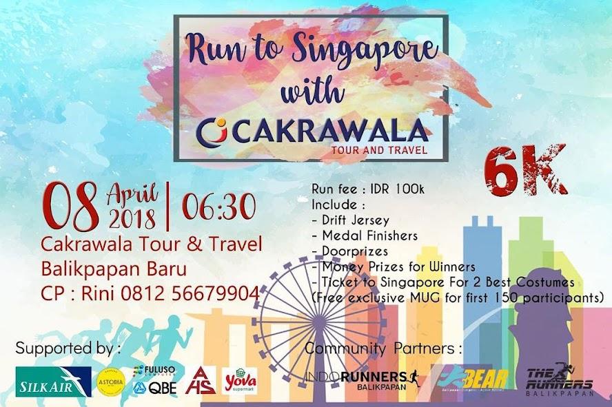 Run to Singapore with Cakrawala • 2018