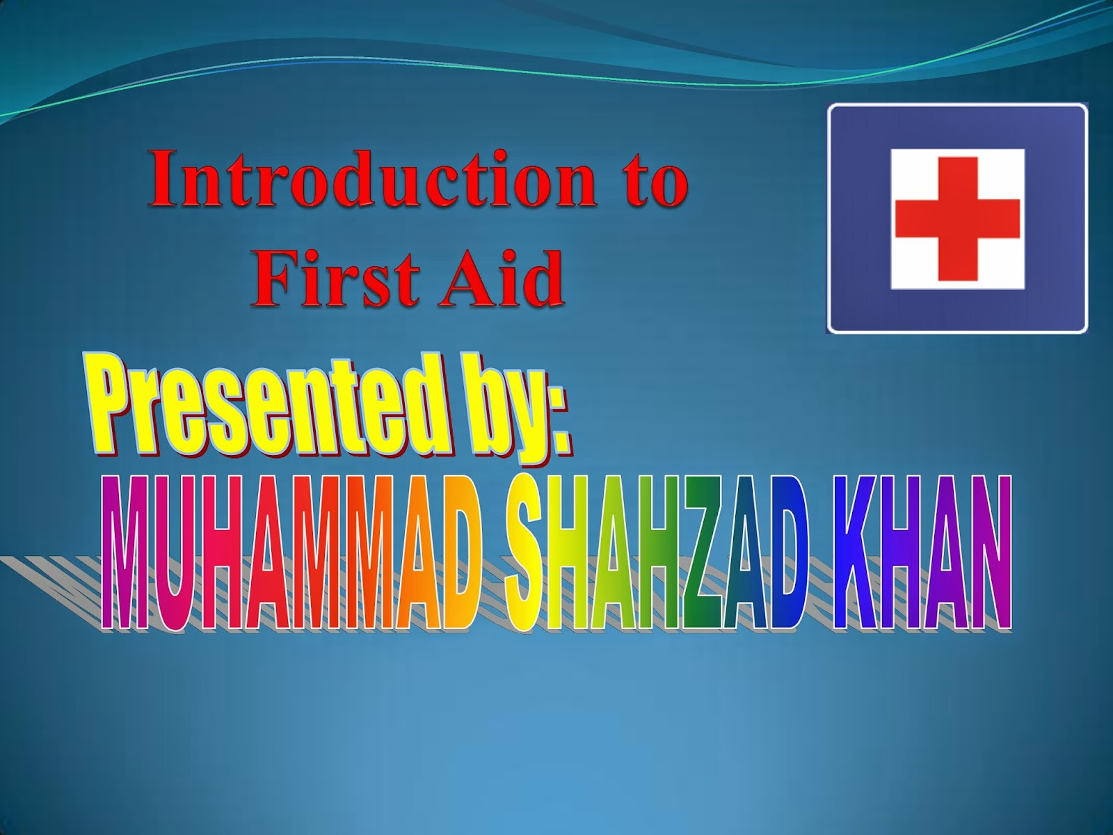 Hse Info Introduction To First Aid