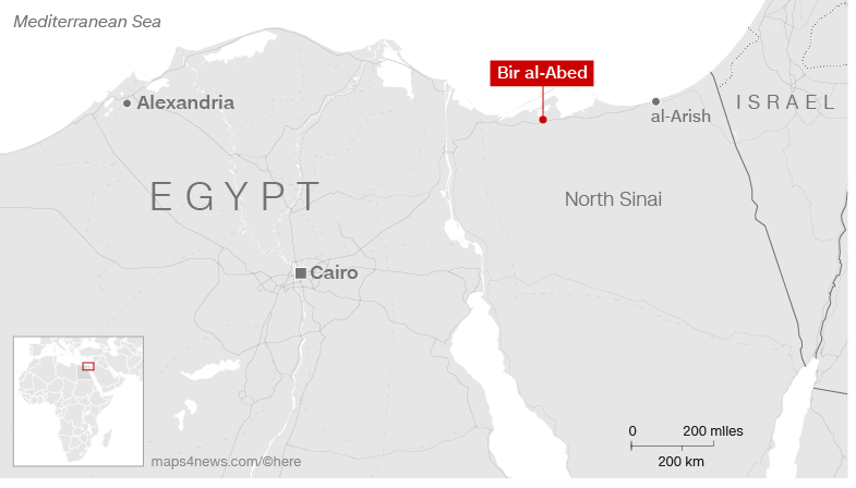 BREAKING NEWS: Egypt mosque attack 'I hid under dead bodies' said surviver
