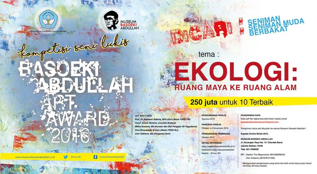 Kompetisi Seni Lukis Basoeki Abdullah Award 2016