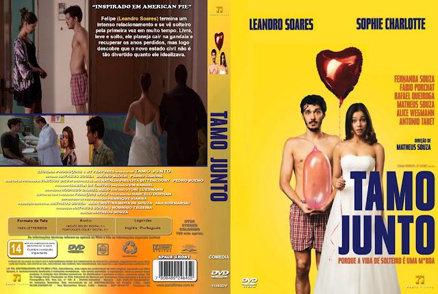 Capa DVD Tamo Junto
