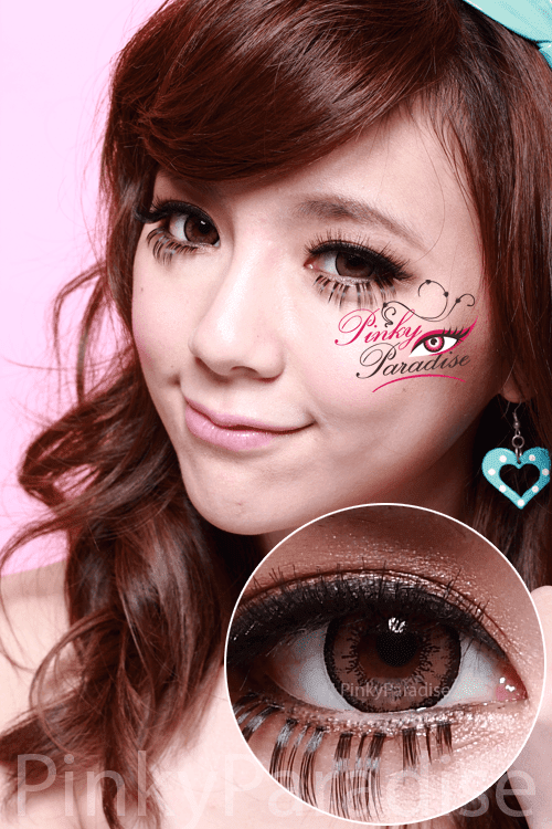 vassen dolly plus brown circle lenses (colored contacts)