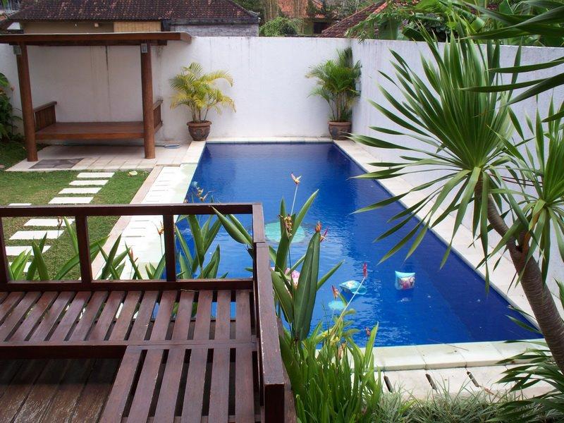 kumpulan model desain rumah dengan kolam renang
